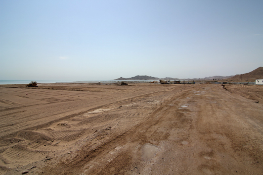 Total construction area of 150,000 square metres, Turkmenistan